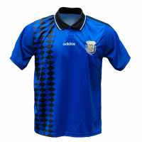1994 World Cup Argentina Away Blue Retro Soccer Jerseys Shirt