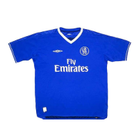 03/05 Chelsea Home Blue Retro Jerseys Shirt