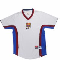 98/99 Barcelona Away Gray Retro Soccer Jerseys Shirt