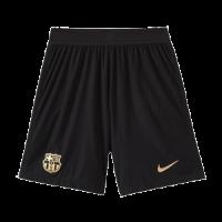 20/21 Barcelona Away Black Soccer Jerseys Short