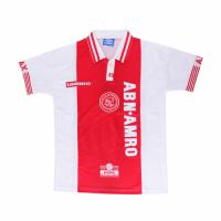 97/98 Ajax Home Red&White Retro Soccer Jerseys Shirt