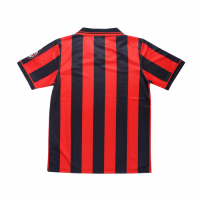 AC Milan Soccer Jersey Home Retro Replica 1996/97