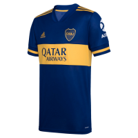 20/21 Boca Juniors Home Blue Soccer Jerseys Shirt(Player Version)