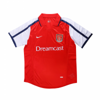 Arsenal Soccer Jersey Home Retro Replica 2000-2001