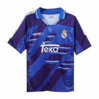 Real Madrid Retro Soccer Jersey Away Replica 1994/96