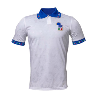 Italy Retro Soccer Jersey Away Replica World Cup 1994
