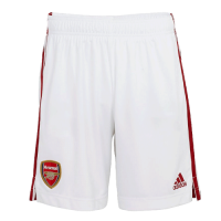 20/21 Arsenal Home White Soccer Jerseys Short