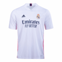 20/21 Real Madrid Home White Soccer Jerseys Shirt