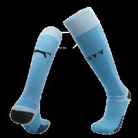 20/21 Manchester City Home Light Blue Jerseys Socks