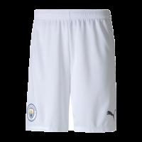20/21 Manchester City Home White Jerseys Short