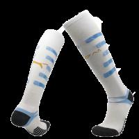 20/21 Marseilles Home White Soccer Jerseys Socks