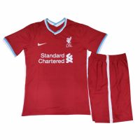Liverpool Kids Soccer Jersey Home Kit (Shirt+Short) 2020/21