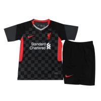 Liverpool Kids Soccer Jersey Third Away Kit (Shirt+Short) 2020/21