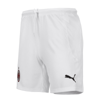 20/21 AC Milan Home White Soccer Jerseys Short