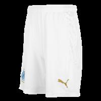 20/21 Marseilles Home White Soccer Jerseys Short