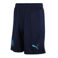 20/21 Marseilles Away Navy Soccer Jerseys Short