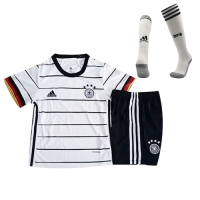 Germany Kids Soccer Jersey Home Whole Kit (Shirt+Short+Socks) 2021