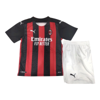 AC Milan Kids Soccer Jersey Home Kit (Shirt+Short) 2020/21