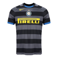 20/21 Inter Milan Third Away Gray&Black Soccer Jerseys Shirt