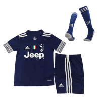 20/21 Juventus Home White Children's Jerseys Socks