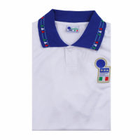 Italy Retro Soccer Jersey Away Replica World Cup 1994