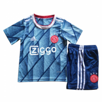 20/21 Ajax Away Blue Children's Jerseys Kit(Shirt+Short)