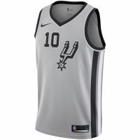 Men's San Antonio Spurs DeMar DeRozan No.10 Nike Gray 20192020 Swingman Jersey - Statement Edition