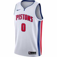 Men's Detroit Pistons Andre Drummond No.0 Nike White Swingman Jersey - Association Edition