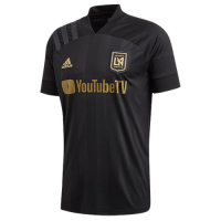 2020 Los Angeles FC Home Black Soccer Jerseys Shirt