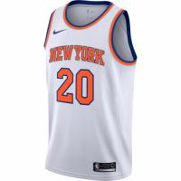 Men's New York Knicks Kevin Knox No.20 Nike White 20192020 Swingman Jersey - Association Edition