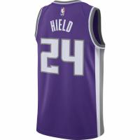 Men's Sacramento Kings Buddy Hield No.24 Nike Purple Swingman Jersey - Icon Edition