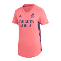 20/21 Real Madrid Away Pink Women's Jerseys Shirt