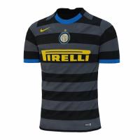 20/21 Inter Milan Third Away Gray&Black Soccer Jerseys Shirt