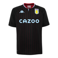 20/21 Aston Villa Away Black Soccer Jerseys Shirt