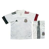 Mexico Kids Soccer Jersey Away Kit (Shirt+Short) 2020