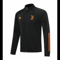20/21 Juventus Black&Orange High Neck Training Jacket