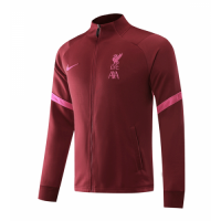 20/21 Liverpool Red High Neck Collar Training Jacket