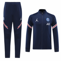 20/21 PSG All Navy High Neck Collar Training Kit(Jacket+Trouser)