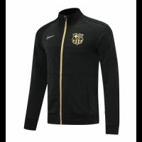 20/21 Barcelona Black High Neck Collar Player Version Training Jacket