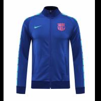 20/21 Barcelona Blue High Neck Collar Training Jacket