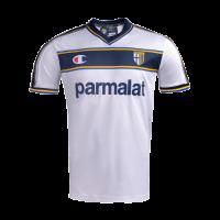 02/03 Parma Calcio 1913 Away White Retro Jerseys Shirt