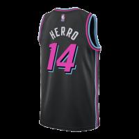 Men's Miami Heat Tyler Herro No.14 Black 19-20 Swingman Jersey - City Edition