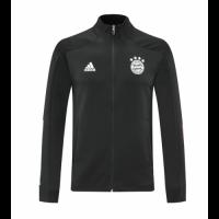 20/21 Bayern Munich Black High Neck Collar Training Jacket