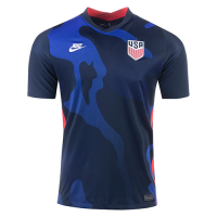 2020 USA Away Blue Soccer Jerseys Shirt