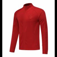 20/21 Bayern Munich Dark Red High Neck Collar Training Jacket