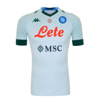 20/21 Napoli Away White Soccer Jerseys Shirt