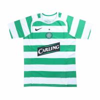 05/06 Celtic Home Green&White Retro Soccer Jerseys Shirt