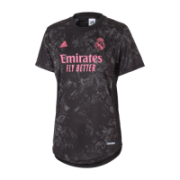 20/21 Real Madrid Third Away Black Women's Jerseys Shirt