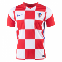 2020 Croatia Home Red&White Jerseys Shirt