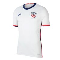 2020 USA Home White Soccer Jerseys Shirt